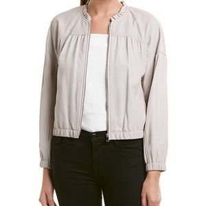 Rebecca Taylor Leather Bomber